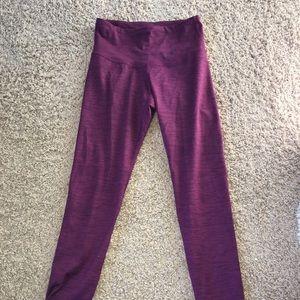 Extra small burgundy leggings!